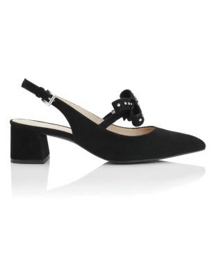 Spanish leather heels