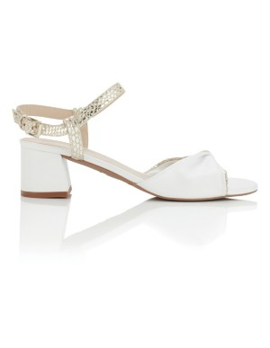 Festive block heels
