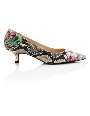 Printed court shoes