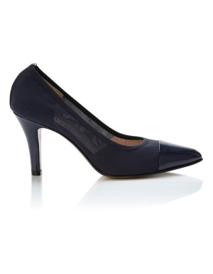 Court shoes with mesh detail