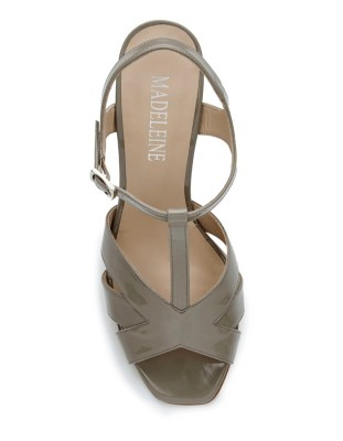 Summery patent leather heels