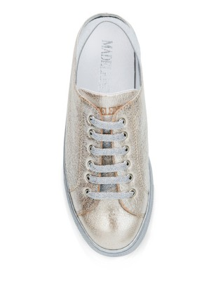 Italian leather trainers