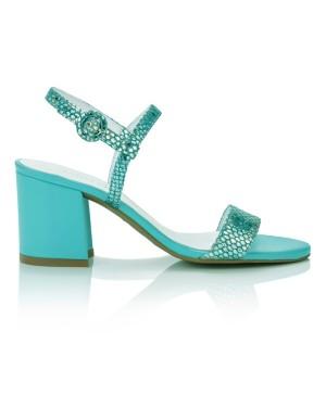 Embossed heels