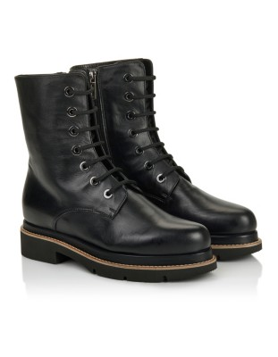 Italian leather boots