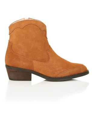 Spanish suede boots