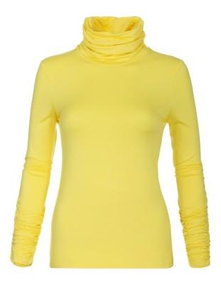 Polo neck top