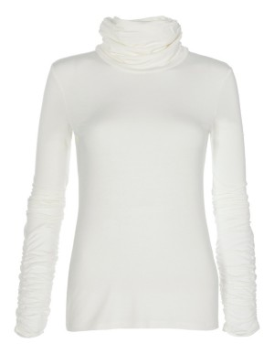 Polo neck top