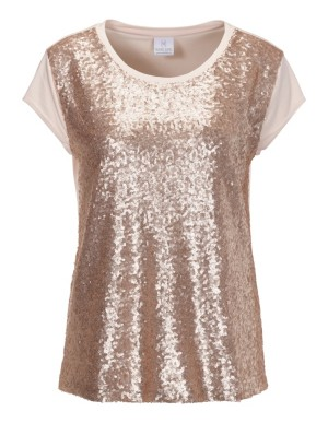 Shimmering sequined top