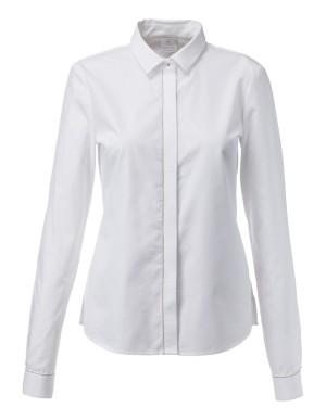Beaded cotton shirt