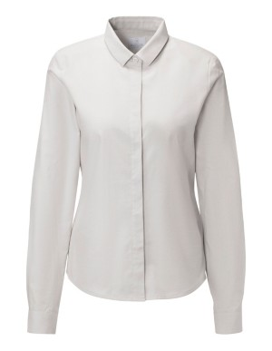 Cotton and cashmere shirt