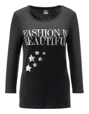 Top with foil print
