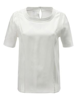 Silk blouse-style shirt