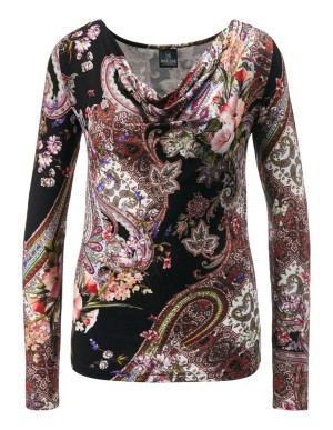 Paisley tailored top