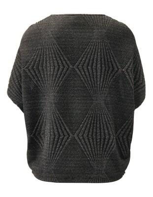 Lamé detail O-shaped top