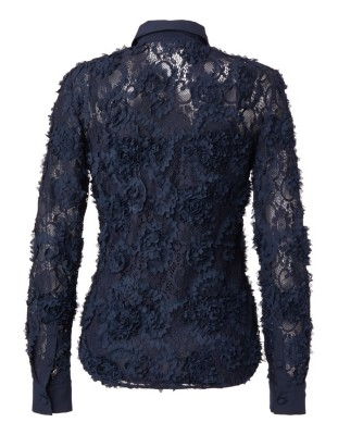 3D lace blouse