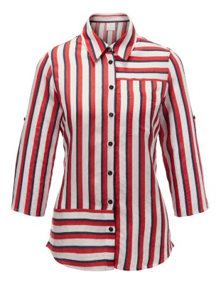 Striped maritime shirt