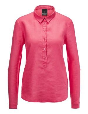 Vibrant linen shirt