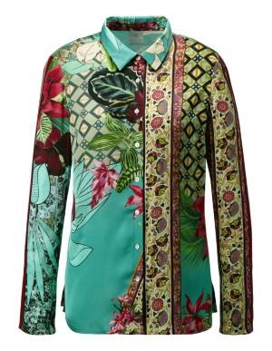 Paisley floral blouse