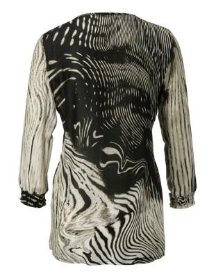 Animal print tunic