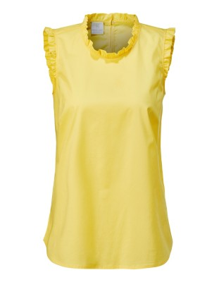 Top with ruffle detailing