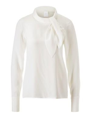 Yarn blend blouse