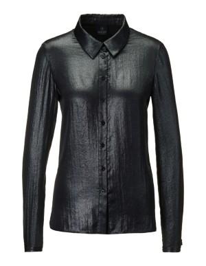 Foil print blouse