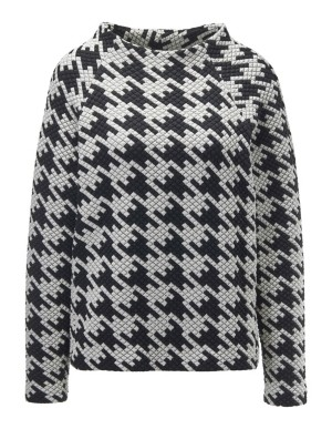 Leisure dogtooth top