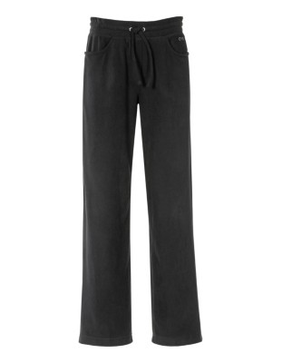 Straight-leg fleece trousers, CANYON