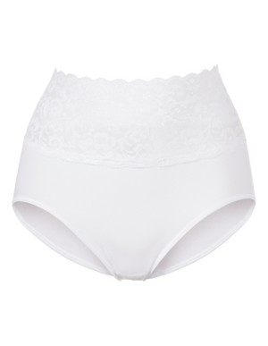High-waisted lace trim briefs, SPEIDEL
