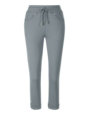 Cropped leisure trousers with turn-up hems, CANYON