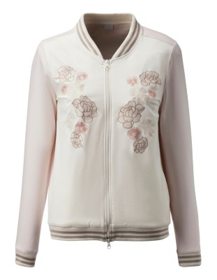 Floral leisure jacket