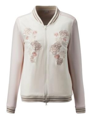 Floral leisure jacket