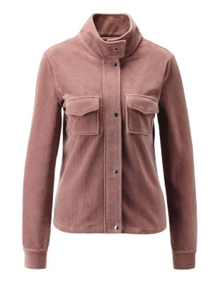 Leisure jacket in needlecord look