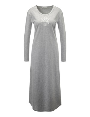 Long-sleeved jersey nightdress, FERAUD