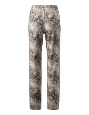 Long-sleeved patterned pyjamas