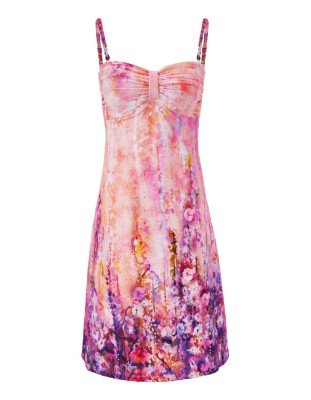 Flared bandeau sun dress