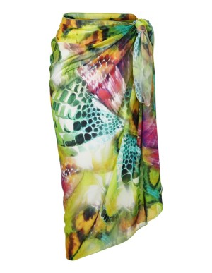 Butterfly print pareo