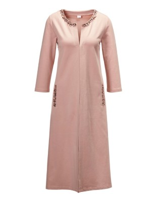 Leisure fabric dressing gown