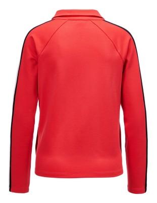 Raglan sleeve jacket with stripe detail