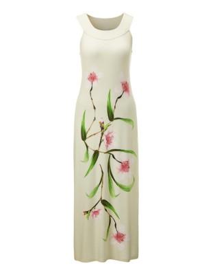 Sleeveless floral nightdress