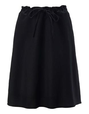 Short, flared skirt