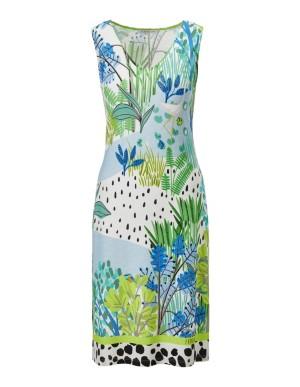 Colourful beach dress, FÉRAUD