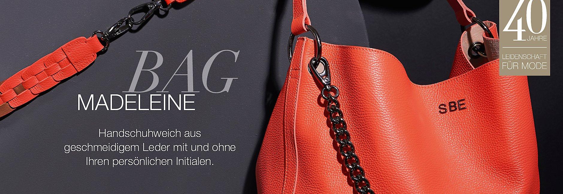 My MADELEINE-BAG aus geschmeidigem Leder