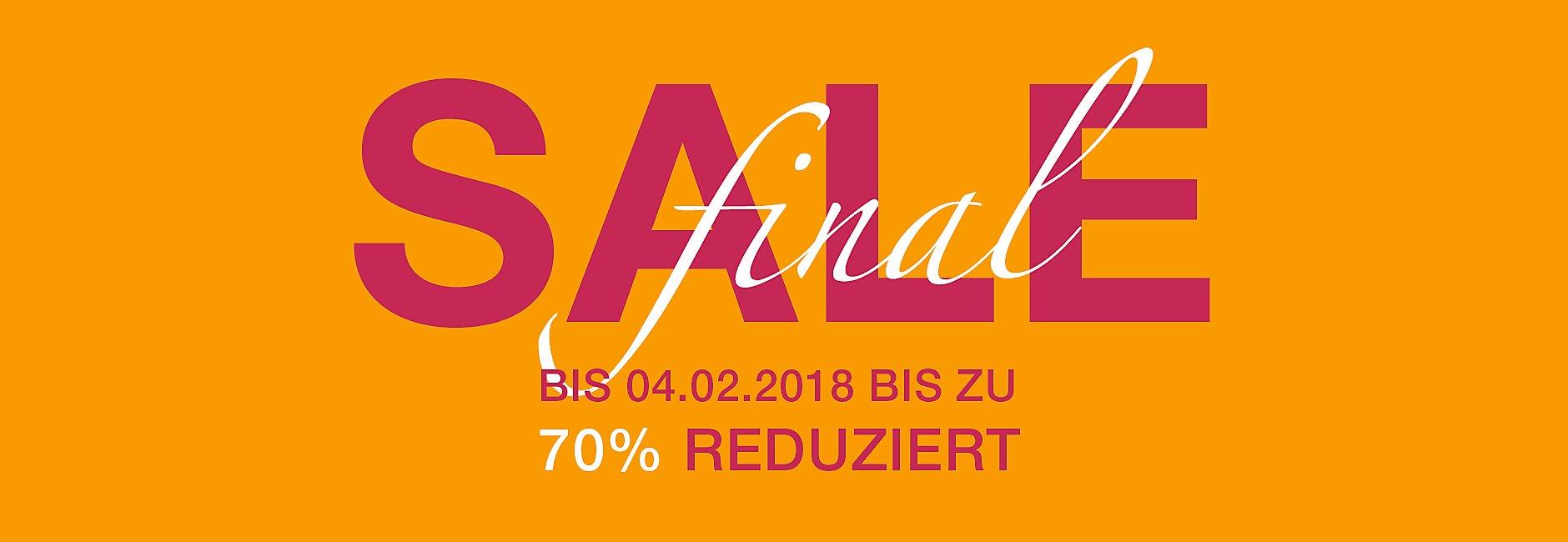Final Sale - Bis zu 70% reduziert