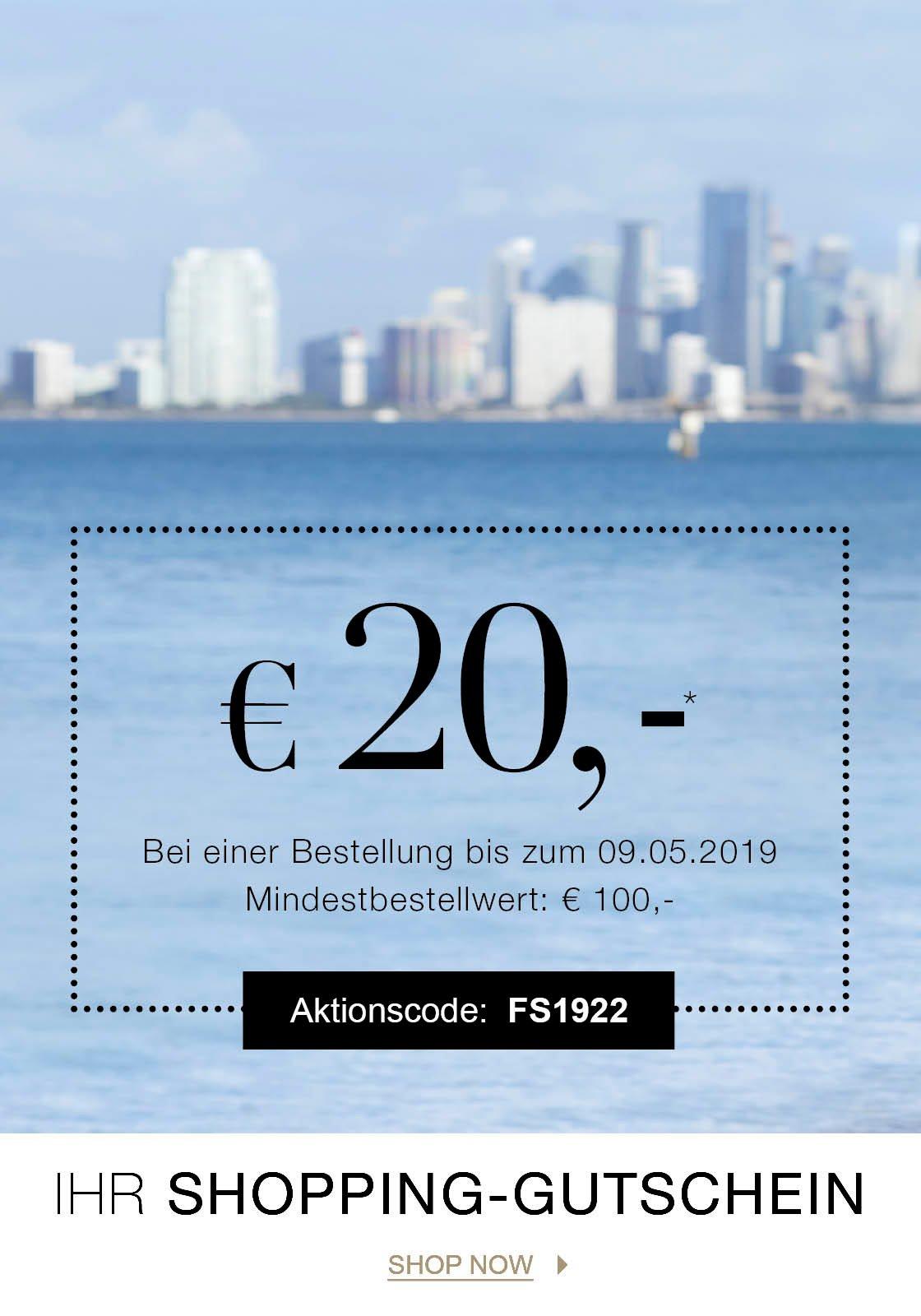 Ihr Gutschein im Wert von EUR 20