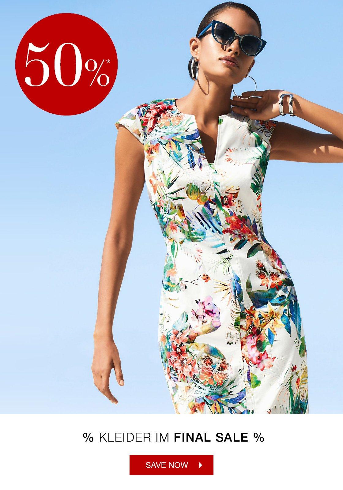 50% auf Kleider