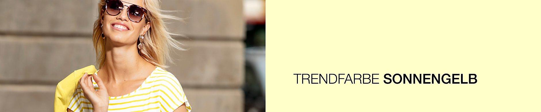 Trendfarbe: SONNENGELB