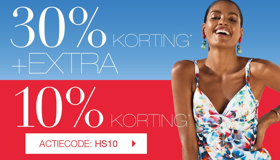 10% extra korting op de sale + gratis verzending