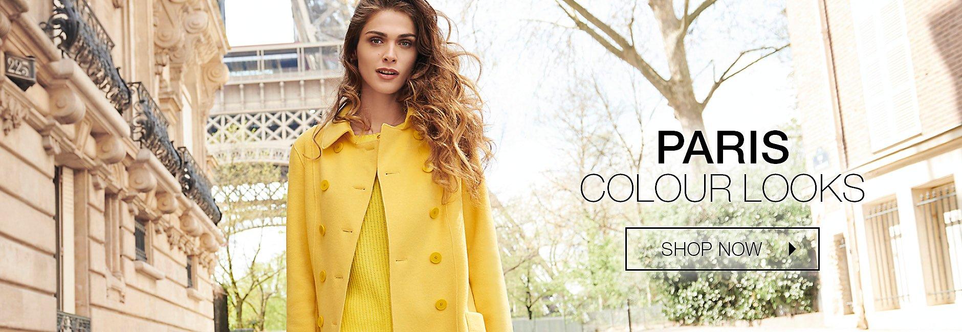 Entdecken Sie farbenfrohe Looks wie sie die Parisienne trägt.