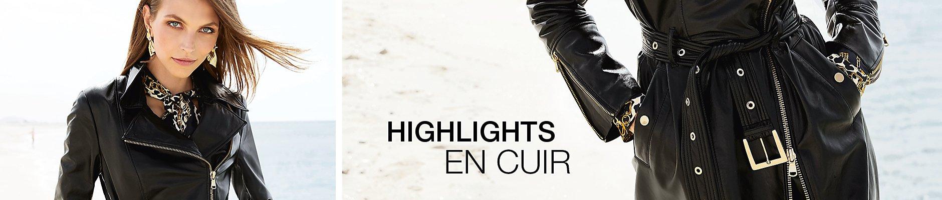 Highlights en cuir